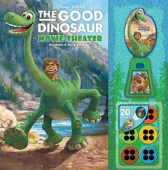 Disney*Pixar the Good Dinosaur Movie Theater Storybook and Movie Projector