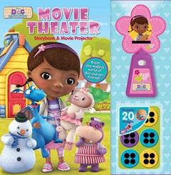Disney Doc Mcstuffins Movie Theater Storybook and Movie Projector