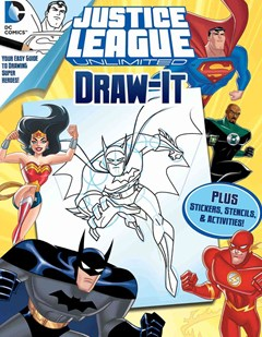 DC Justice League Draw It!