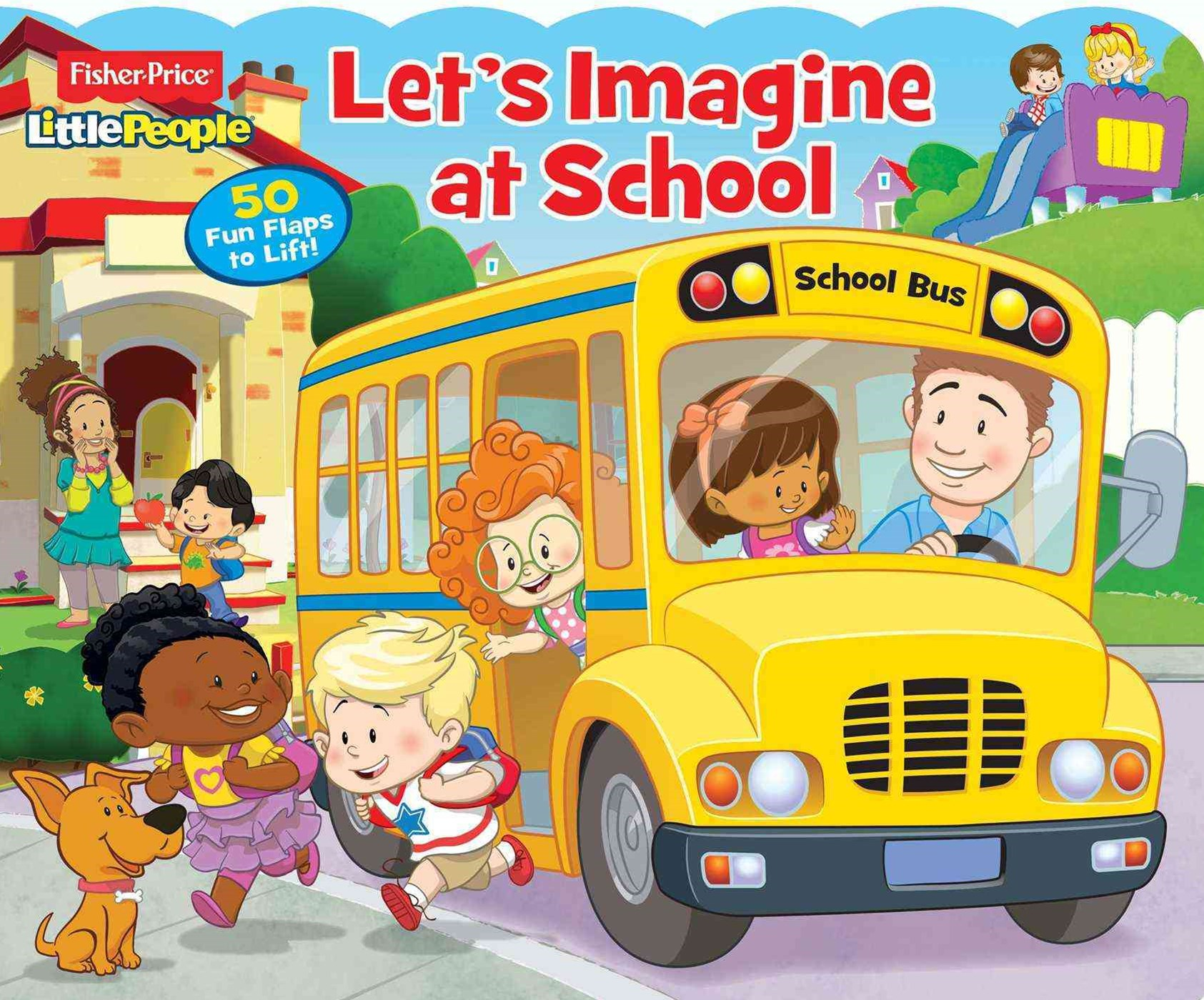 Fisher-Price Little People Let's Imagine at School!