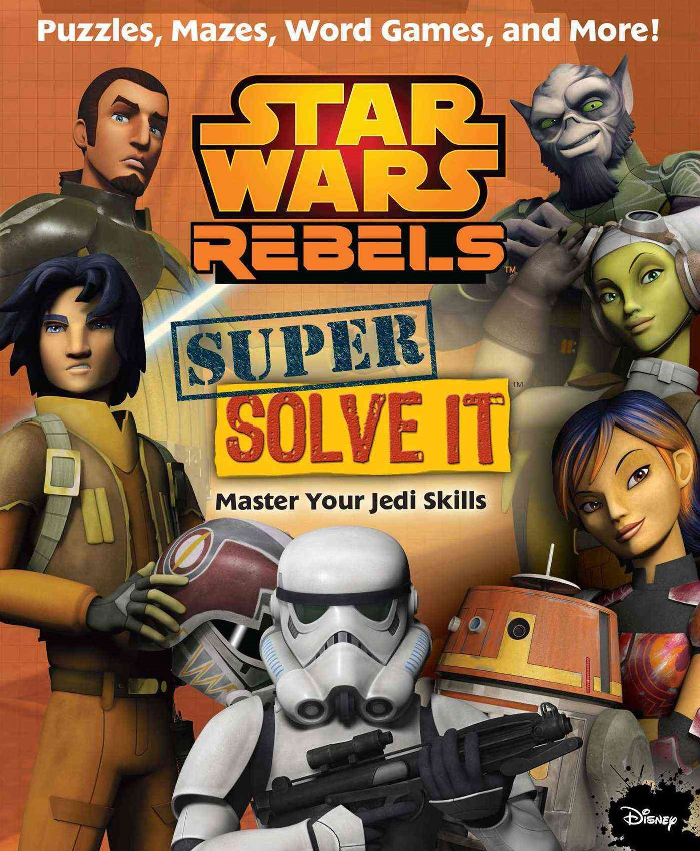 Star Wars Rebels - Find It Solve It Match It