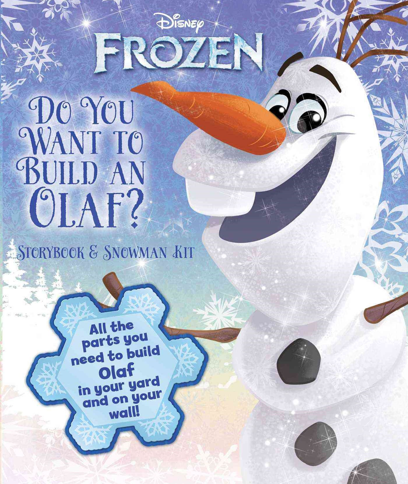 Disney Frozen - Do You Want to Build an Olaf?
