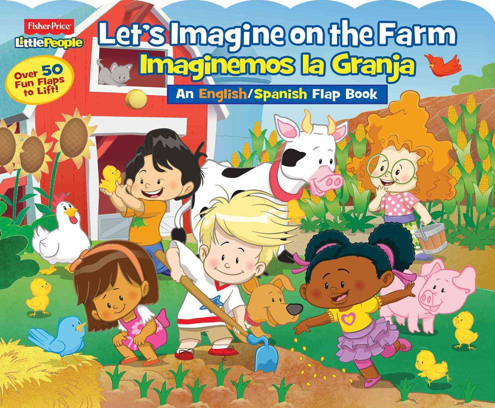 Fisher-Price Little People Let's Imagine at the Farm / Imaginemos la Granja