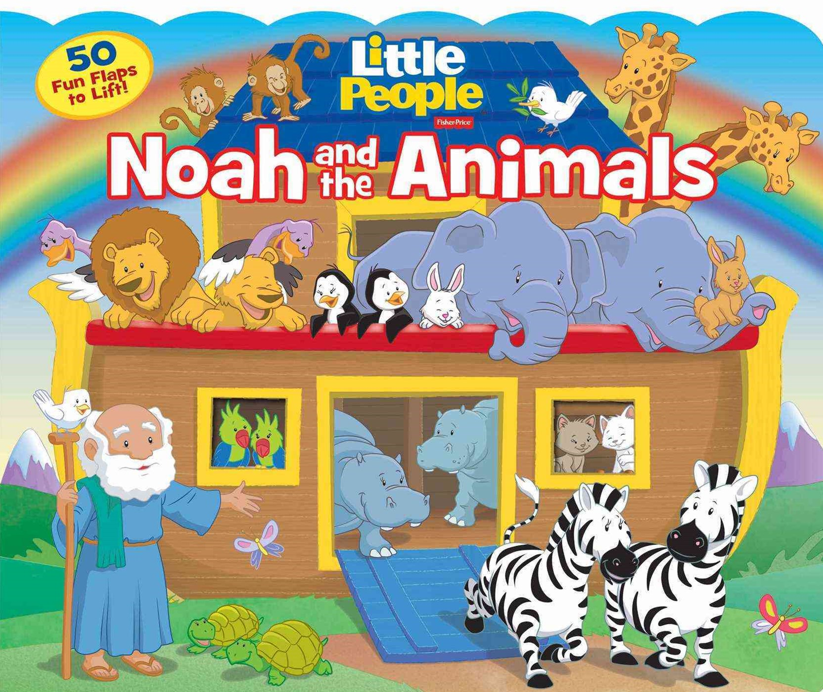 Fisher-Price Little People Noah and the Animals