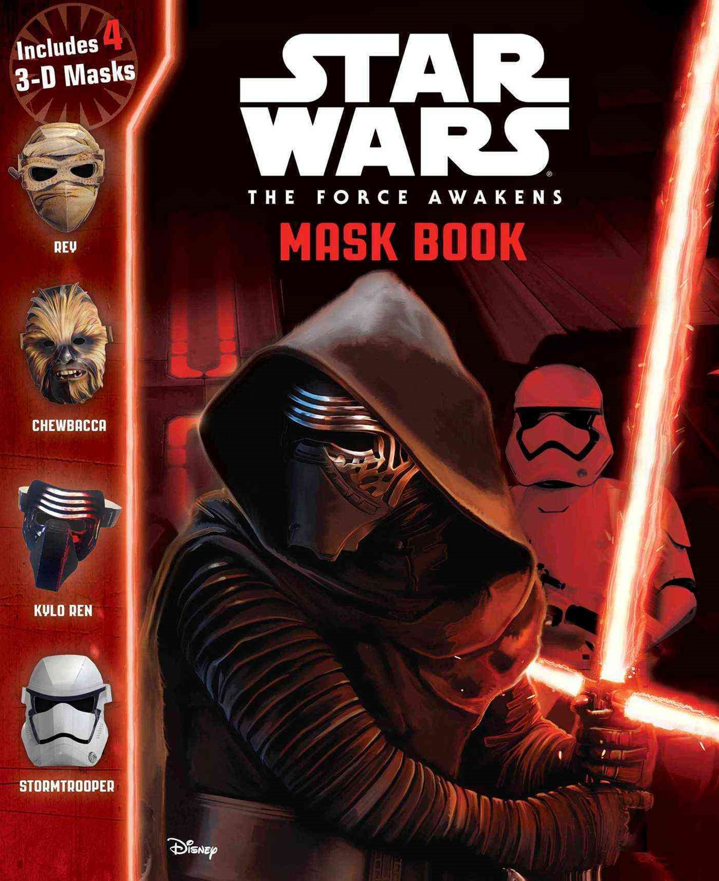 Star Wars - The Force Awakens Mask Book