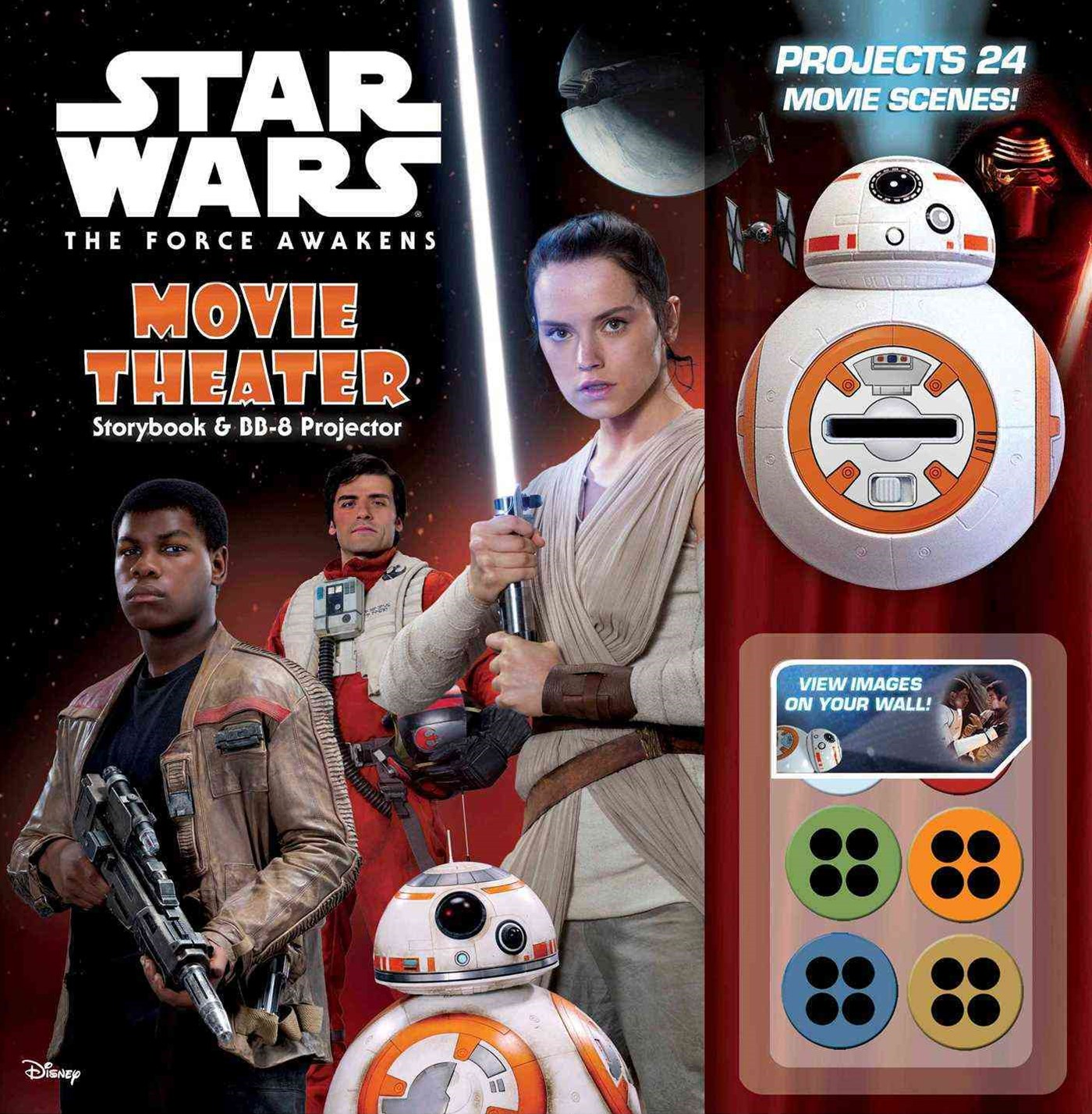 Star Wars: the Force Awakens: Movie Theater Storybook and BB-8 Projector