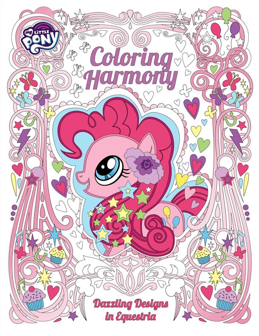 My Little Pony - Coloring Harmony - A Coloring Book for Adults