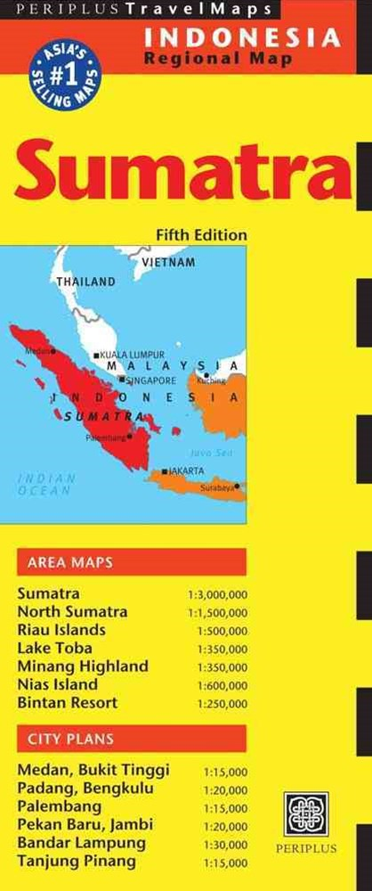 Sumatra Travel Map
