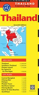 Thailand Travel Map by Periplus Editors (9780794607081) - PaperBack - Travel Asia Travel Guides