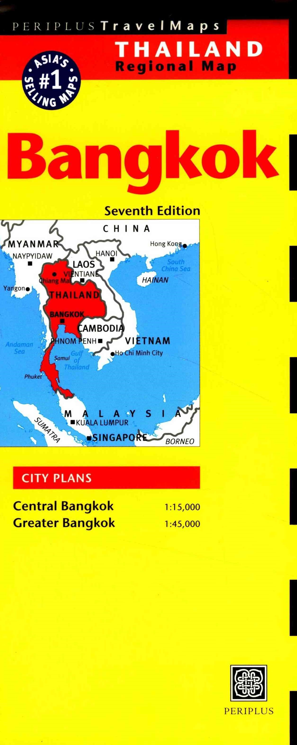 Bangkok Travel Map Sixth Edition