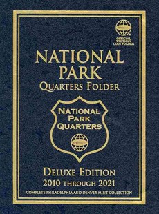 National Park Quarters Folder 2010 Through 2021 by Whitman Publishing (COR) (9780794828752) - HardCover - Craft & Hobbies Antiques and Collectibles