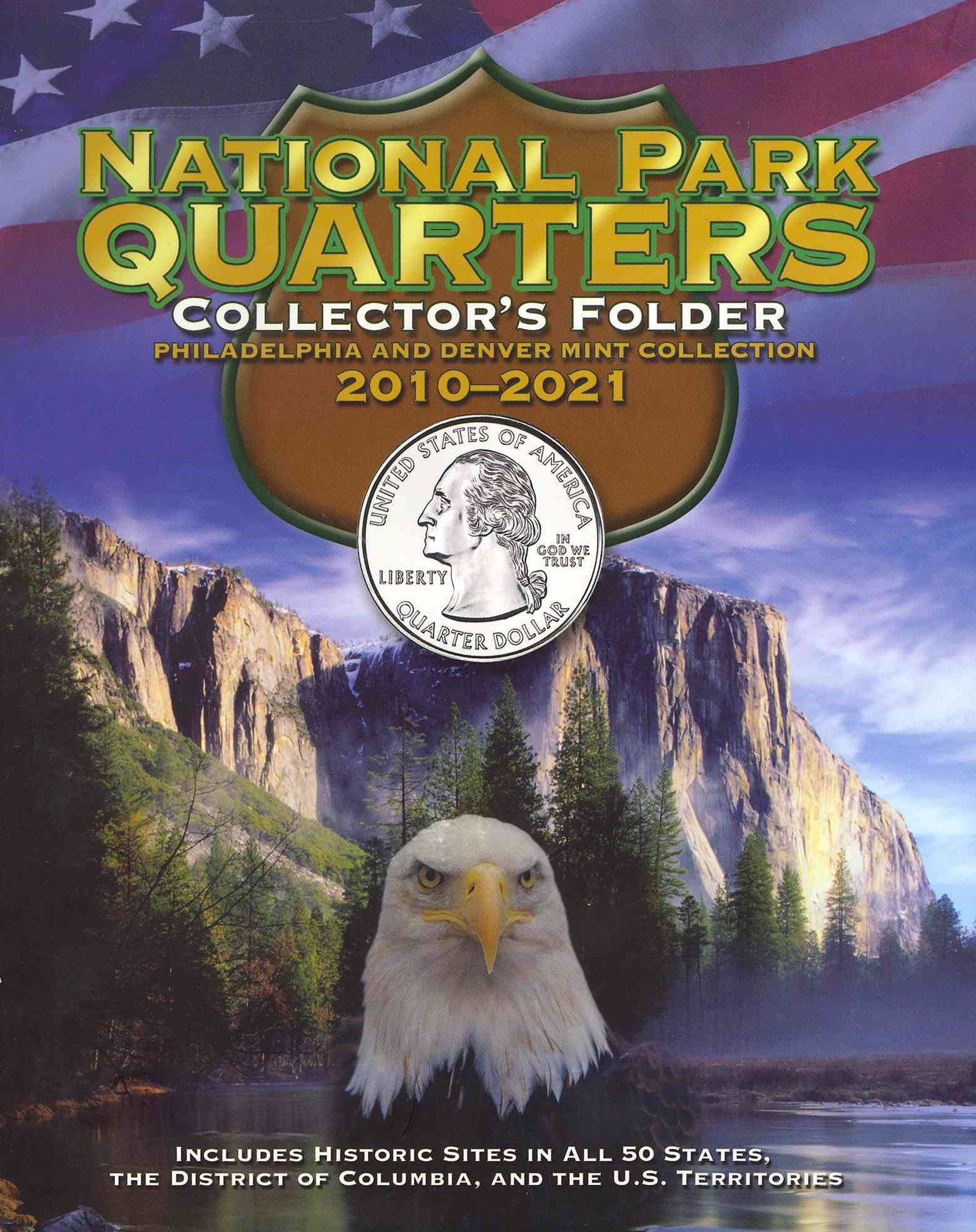 National Park Quarters Collector's Folder 2010-2021