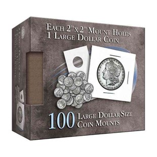 Large Dollar Size Coin Mount by Whitman Publishing (9780794836306) - HardCover - Craft & Hobbies Antiques and Collectibles