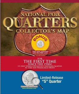 National Park Quarters Collector's Map by Whitman Publishing (9780794840327) - HardCover - Craft & Hobbies Antiques and Collectibles