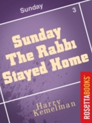 (ebook) Sunday the Rabbi Stayed Home