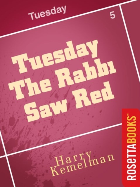 (ebook) Tuesday the Rabbi Saw Red