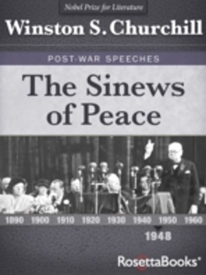 Sinews of Peace