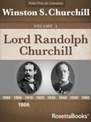 (ebook) Lord Randolph Churchill, Volume I