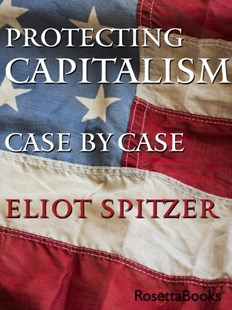(ebook) Protecting Capitalism Case by Case - Business & Finance Ecommerce