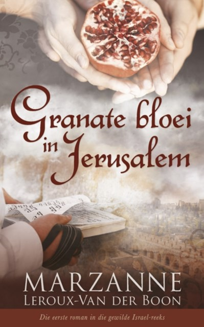 Granate bloei in Jerusalem