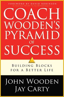 Coach Wooden's Pyramid of Success by John Wooden, Jay Carty, David Robinson (9780800726256) - PaperBack - Biographies Sports
