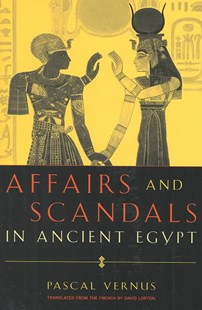 Affairs and Scandals in Ancient Egypt by Pascal Vernus, David Lorton (9780801440786) - HardCover - History African