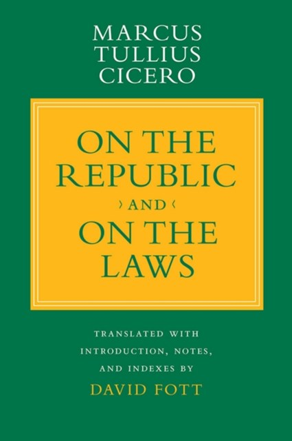 (ebook) &quote;On the Republic&quote; and &quote;On the Laws&quote;