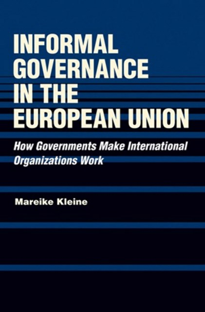 (ebook) Informal Governance in the European Union