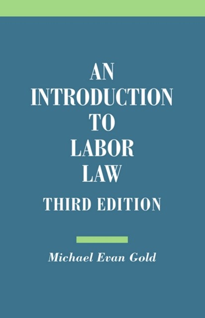 (ebook) Introduction to Labor Law