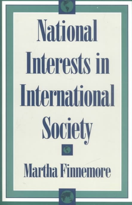 National Interests in International Society