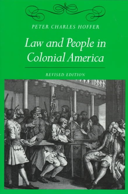 Law and People in Colonial America