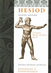 Hesiod: WITH Works and Days AND Shield by Hesiod, Hesiod Hesiod (9780801879845) - PaperBack - Poetry & Drama Poetry