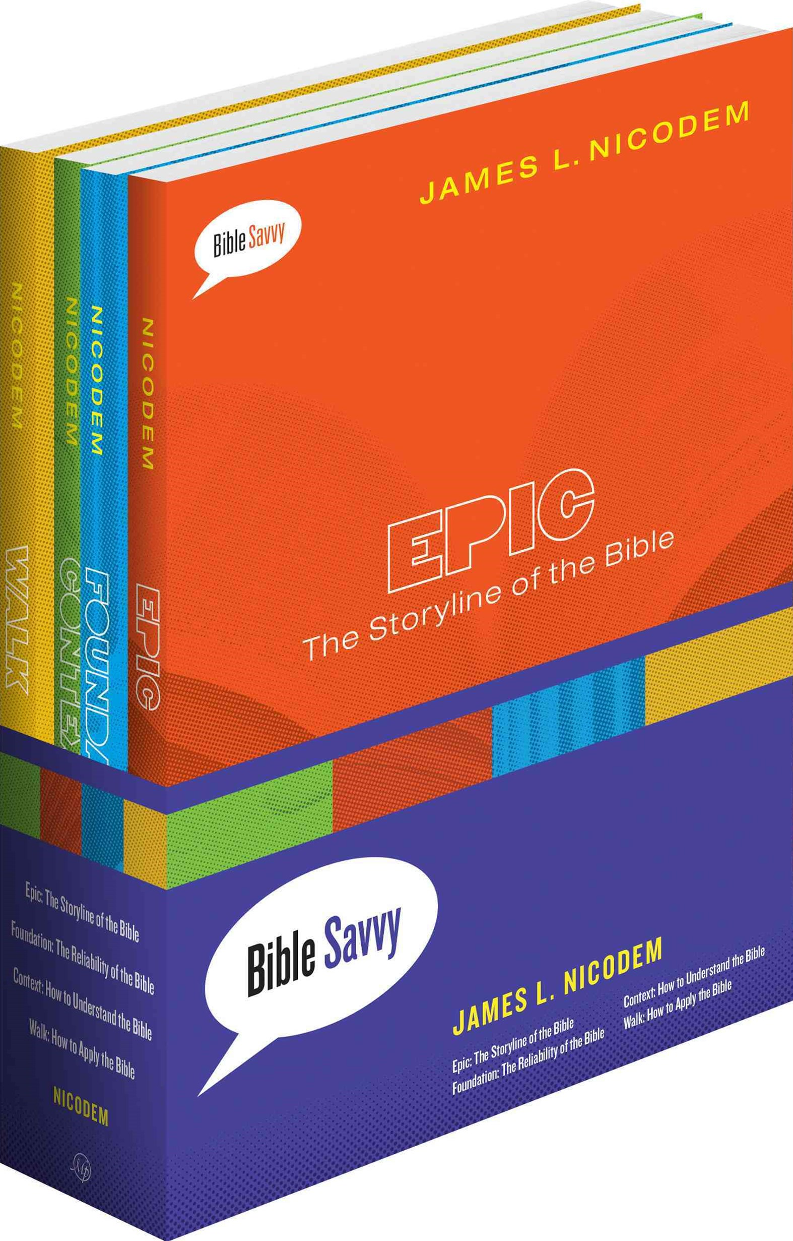 Bible Savvy Set of 4 Books