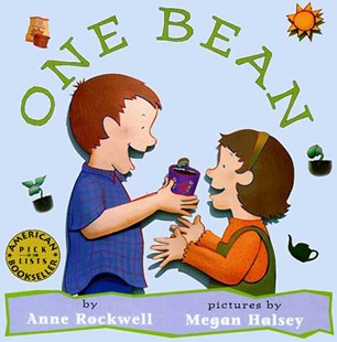 One Bean by Anne F. Rockwell, Megan Halsey, Anne F. Rockwell, Megan Halsey (9780802775726) - PaperBack - Non-Fiction Art & Activity