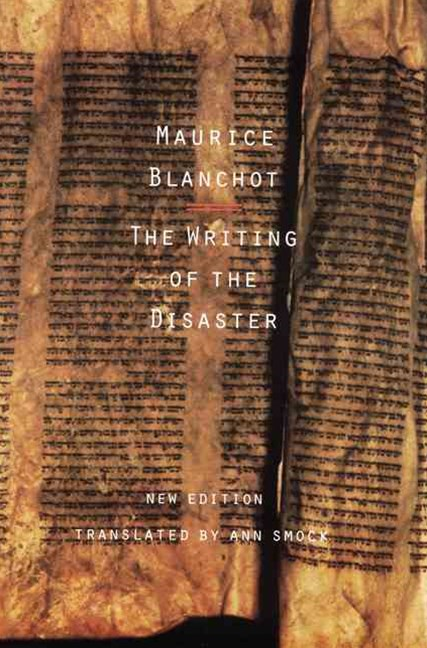 Writing of the Disaster