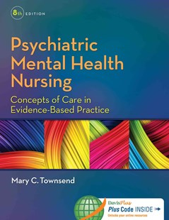 Psychiatric Mental Health Nursing by Mary C TownsendDsn Pmhcns-BC (9780803640924) - HardCover - Reference Medicine