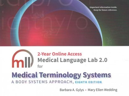 Medical Language Lab for Medical Terminology Systems by Barbara A. Gylys, Mary Ellen Wedding (9780803661127) - HardCover - Reference Medicine