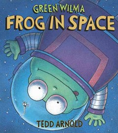 Green Wilma Frog In Space