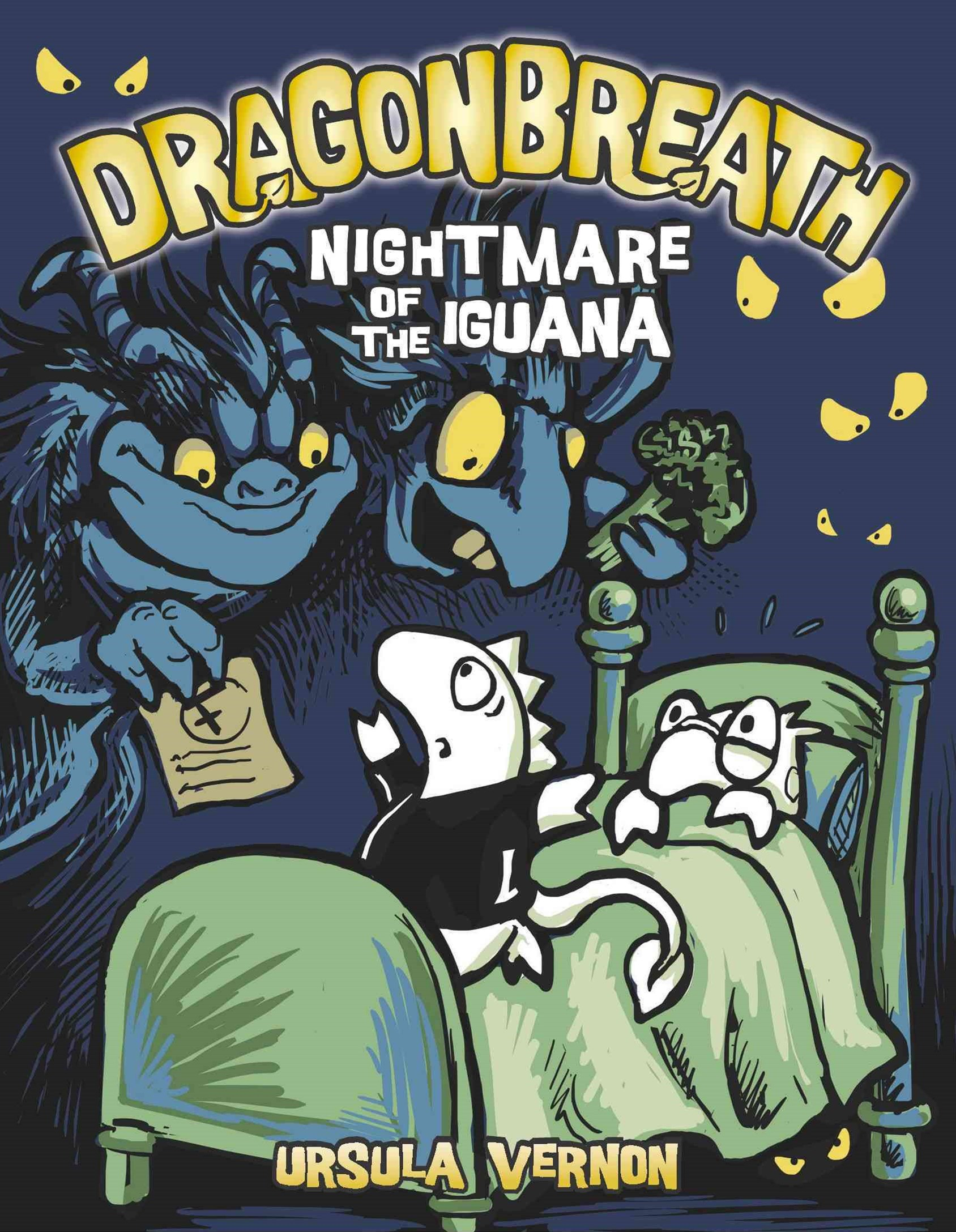 Nightmare of the Iguana: Dragonbreath Book 8