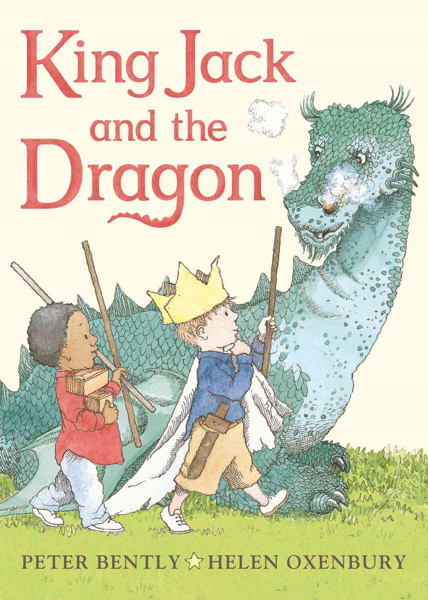 King Jack and the Dragon Board Book