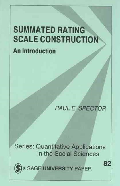 Summated Rating Scale Construction