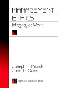 Management Ethics by John A. Petrick, John F. Quinn (9780803957978) - PaperBack - Business & Finance Organisation & Operations