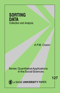 Sorting Data by A. P. M. Coxon (9780803972377) - PaperBack - Reference