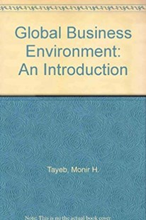 The Global Business Environment by Monir H. Tayeb (9780803984455) - PaperBack - Business & Finance Ecommerce