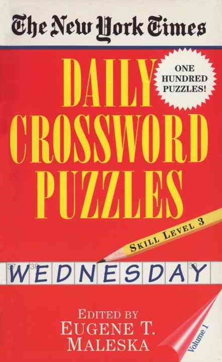 Daily Crossword Puzzles (Wednesday)