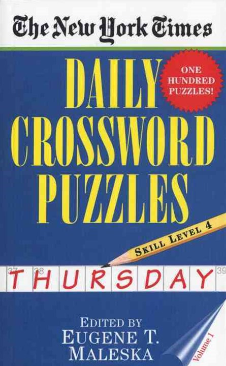 Daily Crossword Puzzles (Thursday)