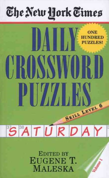 Daily Crossword Puzzles - Saturday
