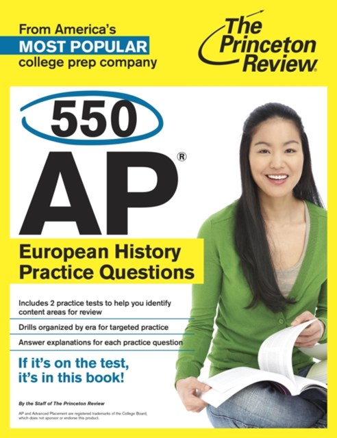 (ebook) 550 AP European History Practice Questions