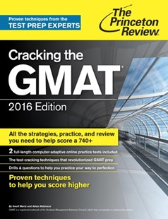 (ebook) Cracking the GMAT with 2 Computer-Adaptive Practice Tests, 2016 Edition - Business & Finance