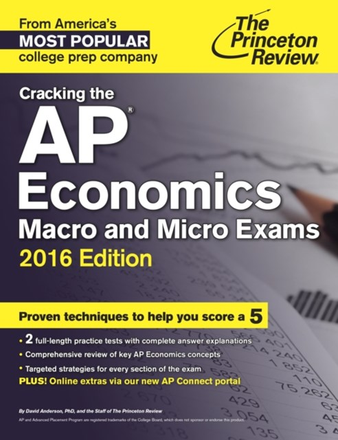 (ebook) Cracking the AP Economics Macro & Micro Exams, 2016 Edition